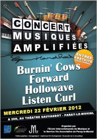 Concert de Musiques Amplifiées